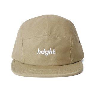 HAIGHT / Round Logo Camp Cap - Khaki