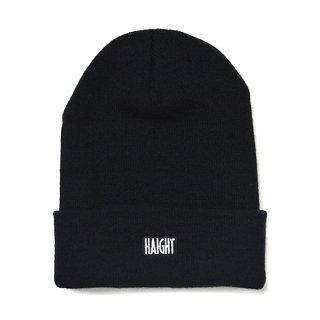 HAIGHT / Box Logo Knit Cap - Black