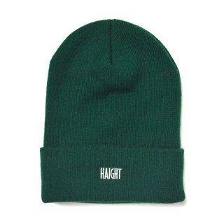 HAIGHT / Box Logo Knit Cap - Green