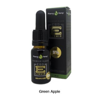 Pharma Hemp / CBD Premium Black E-Liquid グリーンアップル 10ml / 5%