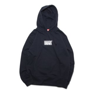 HAIGHT / Box Logo Hoodie - Black
