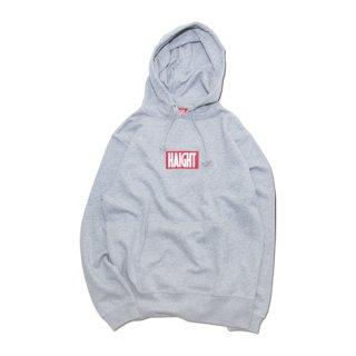 HAIGHT / Box Logo Hoodie - Gray