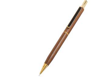 ウッドマックス シャープペン P301 W( 材質:天然木ウオールナット )