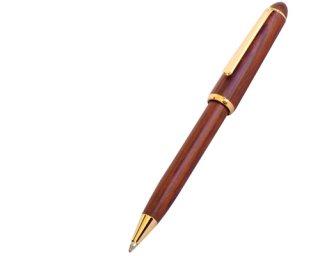 ウッドマックス ボールペン P105 ローズ ( 材質:天然木ローズウッド )