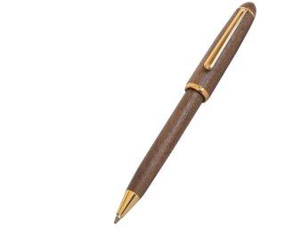 ウッドマックス ボールペン P105 W( 材質:天然木ウオールナット )