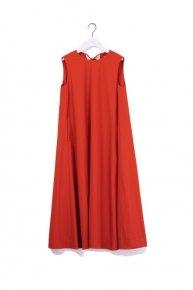 a line dress/orangered