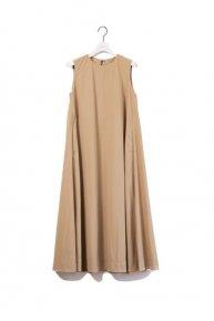 a line dress/beige【20%OFF】