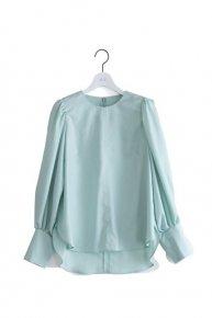 balloon blouse /mint