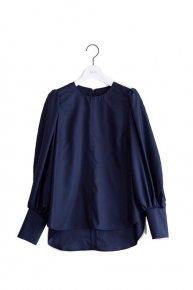 balloon blouse /navy