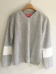 sunshine+cloud/v-neck knit セーター
