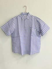 sunshine+cloud/natural linen gingham
