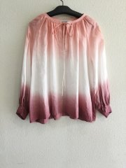 luv our days/GRADATION BLOUSE