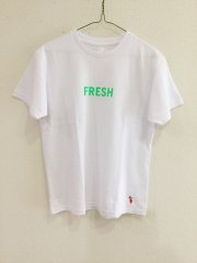 sunshine+cloud/FRESHーGREEN Tシャツ