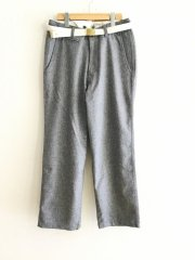 MASTER&CO/FLANNEL LONG TROUSERS