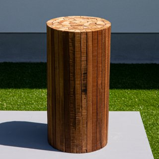 Collected-Wood Stool
