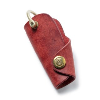 Button Hook Key Case〈Red〉
