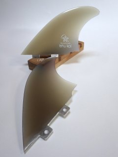<img class='new_mark_img1' src='https://img.shop-pro.jp/img/new/icons6.gif' style='border:none;display:inline;margin:0px;padding:0px;width:auto;' />New! TWIN-KEEL-FIN type1 Sand finish【2127】