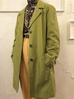 Vintage Corduroy Single Trench Coat<img class='new_mark_img2' src='https://img.shop-pro.jp/img/new/icons50.gif' style='border:none;display:inline;margin:0px;padding:0px;width:auto;' />