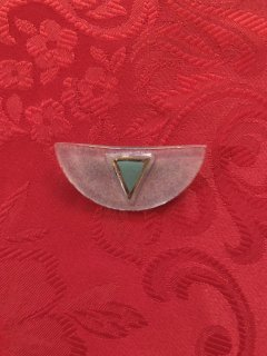 Vintage Pale Colored Geometric Brooch <img class='new_mark_img2' src='https://img.shop-pro.jp/img/new/icons50.gif' style='border:none;display:inline;margin:0px;padding:0px;width:auto;' />