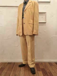 Vintage Pale Yellow Set Up sizeM〜L