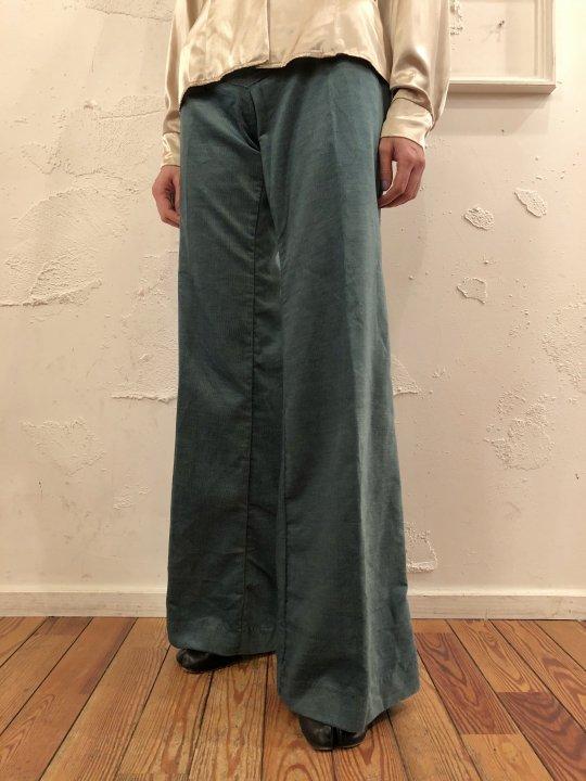 Vintage/DeadStock 70'S Wrangler Flare Pants Green M(13)