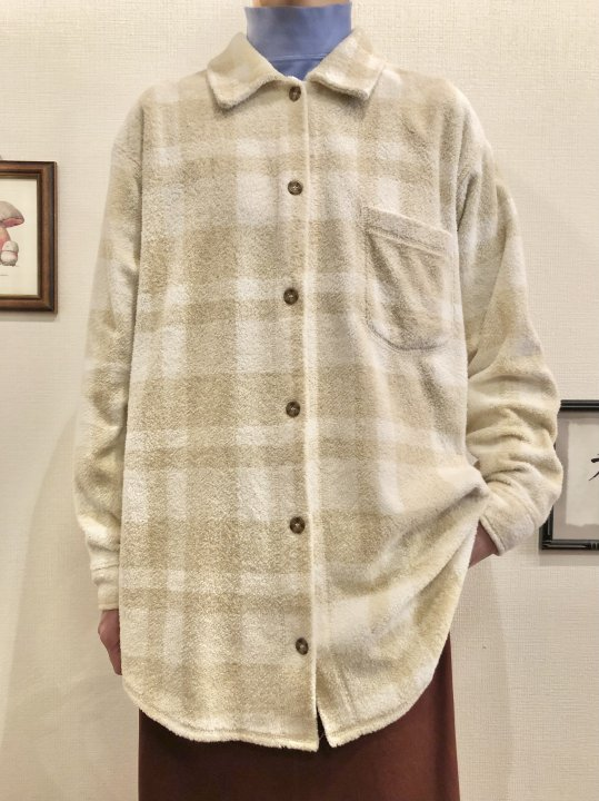 Vintage L.L.Bean Plaid Pile Shirt L<img class='new_mark_img2' src='https://img.shop-pro.jp/img/new/icons50.gif' style='border:none;display:inline;margin:0px;padding:0px;width:auto;' />