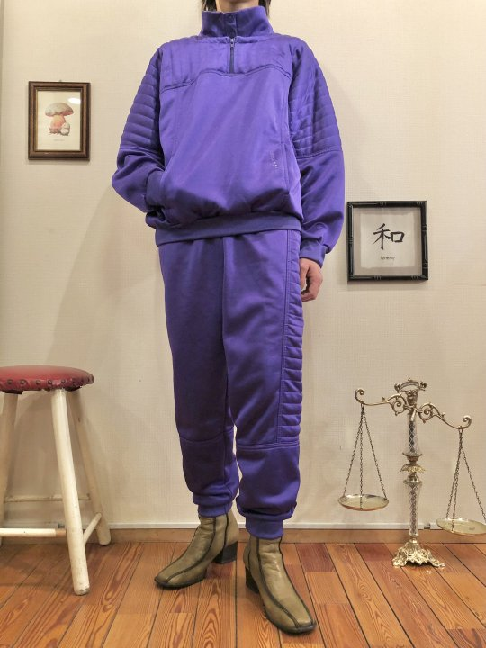 Vintage adidas Purple Jersey Set Up M<img class='new_mark_img2' src='https://img.shop-pro.jp/img/new/icons50.gif' style='border:none;display:inline;margin:0px;padding:0px;width:auto;' />