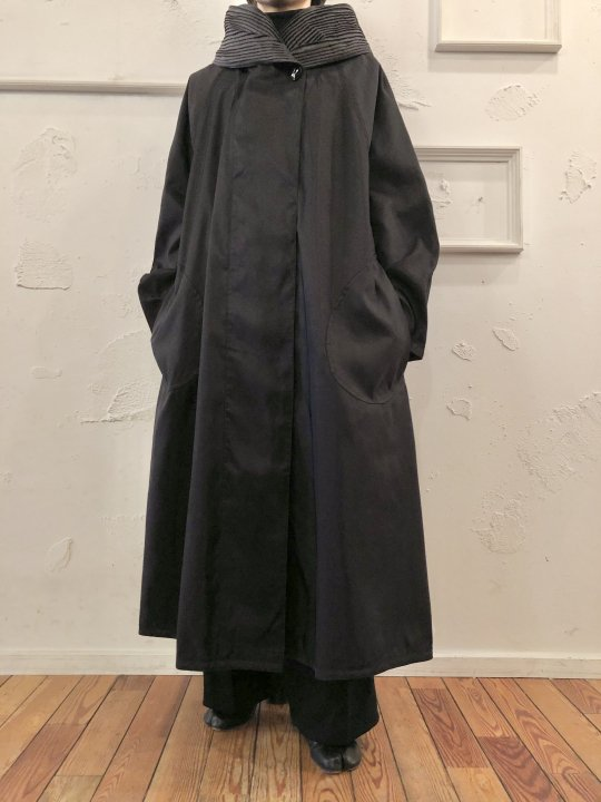 Vintage/DeadStock Reverisble Nylon Long Coat M <img class='new_mark_img2' src='https://img.shop-pro.jp/img/new/icons50.gif' style='border:none;display:inline;margin:0px;padding:0px;width:auto;' />