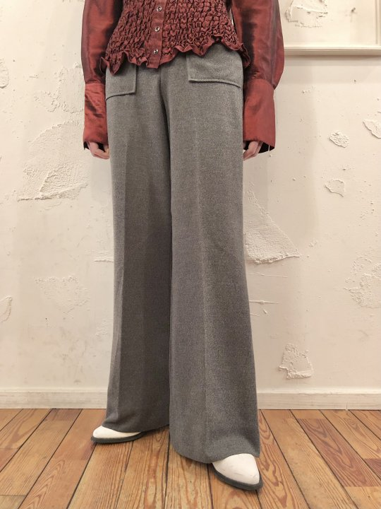 Vintage Light Gray Flare Pants M<img class='new_mark_img2' src='https://img.shop-pro.jp/img/new/icons50.gif' style='border:none;display:inline;margin:0px;padding:0px;width:auto;' />