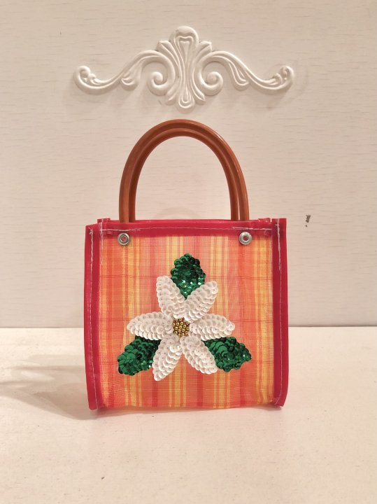 Vintage Floral Micro Mini Mercado Hand Bag <img class='new_mark_img2' src='https://img.shop-pro.jp/img/new/icons50.gif' style='border:none;display:inline;margin:0px;padding:0px;width:auto;' />