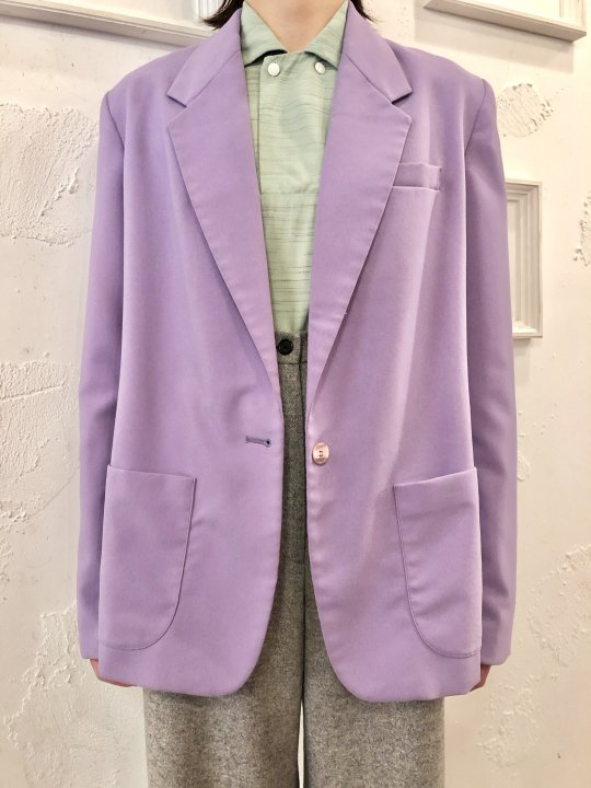 Vintage Lilac Tailored Jacket M