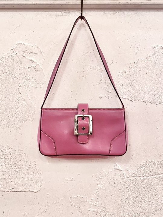 Vintage GUESS Fuchsia Pink HandBag