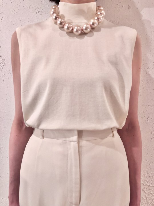Vintage Pale Pink Chunky Pearl Necklace<img class='new_mark_img2' src='https://img.shop-pro.jp/img/new/icons50.gif' style='border:none;display:inline;margin:0px;padding:0px;width:auto;' />