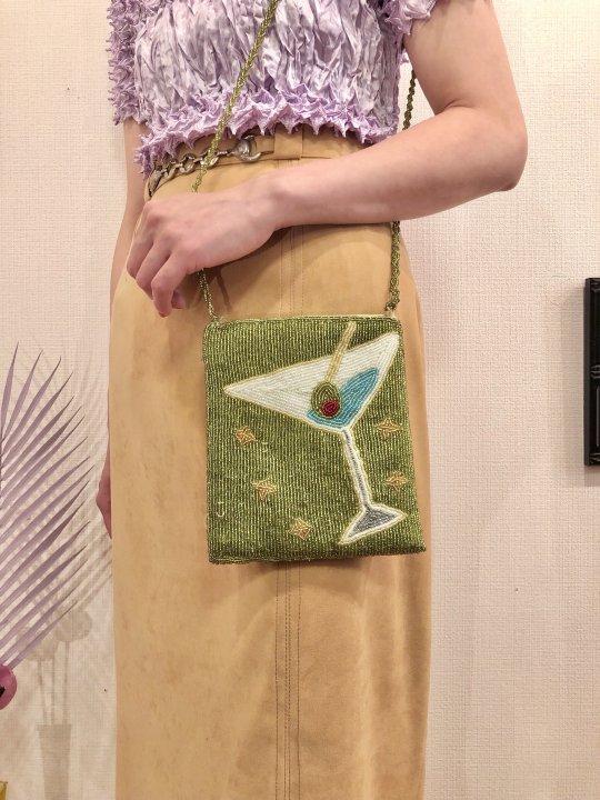 Vintage Beaded Design Shoulder Bag