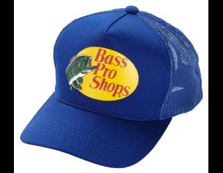 Bass Pro Shops Mesh Cap ブルー