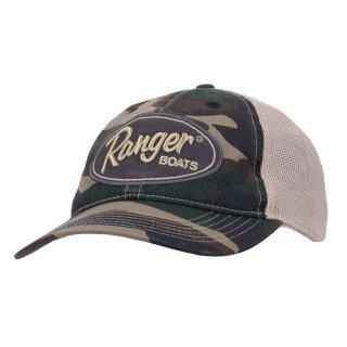 【Ranger Boats レンジャーウェア】VINTAGE CAMO CAP