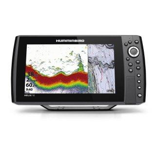 【HUMMINBIRD】HELIX 10 CHIRP MEGA SI+ GPS G4N