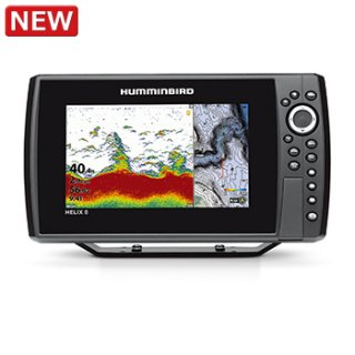 【HUMMINBIRD】HELIX 8 CHIRP MEGA SI+ GPS G3N
