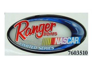 【Ranger Boats レンジャーグッズ】DECAL,RANGER NASCAR,LRG,DMD,OV