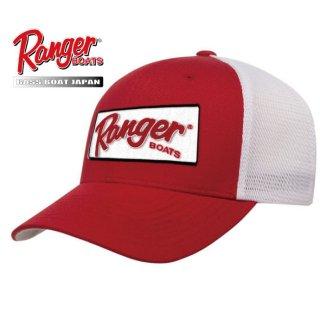 【Ranger Boats レンジャーウェア】Red Large Logo Patch Cap