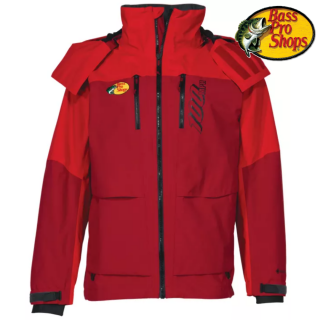 <img class='new_mark_img1' src='https://img.shop-pro.jp/img/new/icons1.gif' style='border:none;display:inline;margin:0px;padding:0px;width:auto;' />【BASS PRO SHOPS/バスプロショップス】Bass Pro Shops 100 MPH GORE-TEX Rain Jacket for Men - Red - M