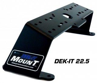 DEK-IT 魚探架台 バウデッキ用シングル/ナナメ