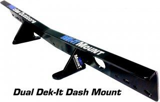 DEK-IT 魚探架台 コンソール用デュアル