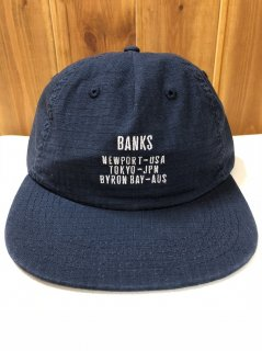 <img class='new_mark_img1' src='https://img.shop-pro.jp/img/new/icons15.gif' style='border:none;display:inline;margin:0px;padding:0px;width:auto;' />BANKS キャップ